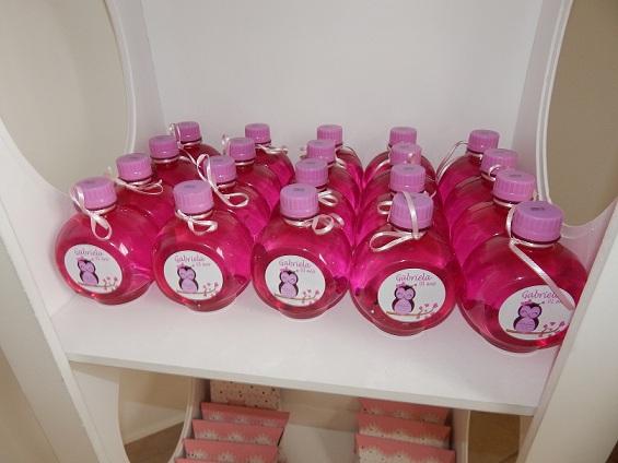 FESTA CLEAN Corujinhas rosa e verde  (106)