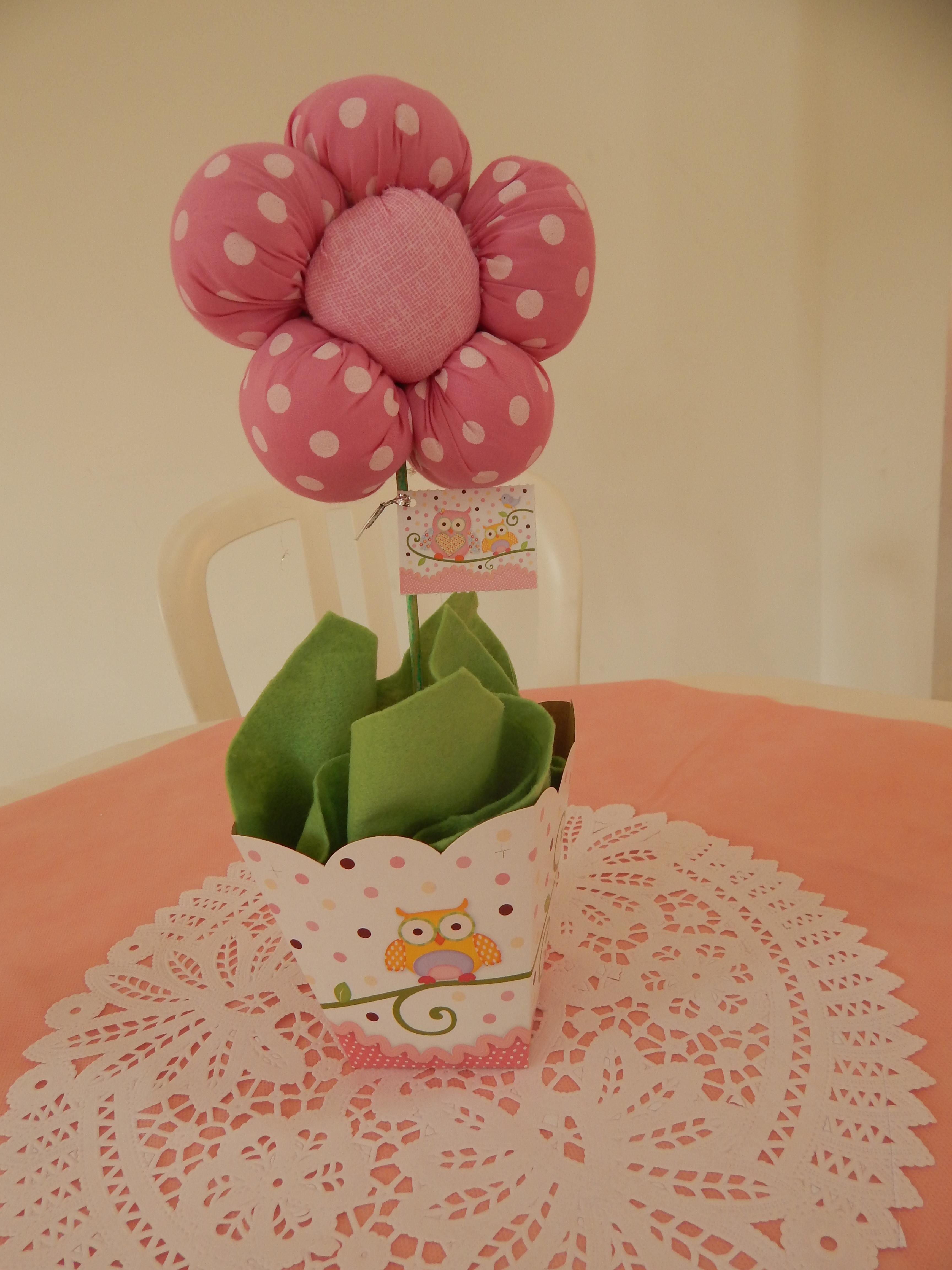 FESTA CLEAN Corujinhas rosa e verde  (149)