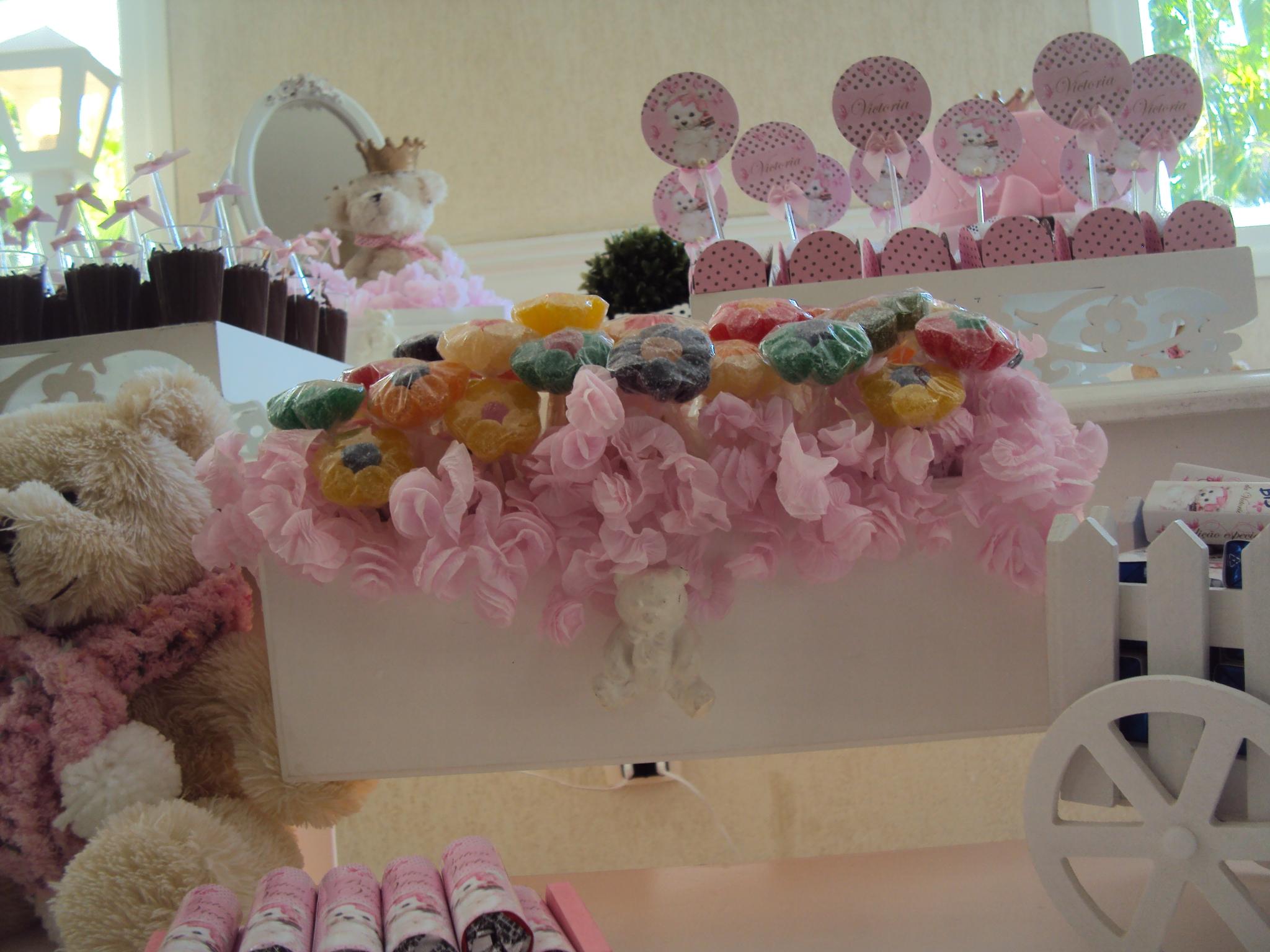 FESTA CLEAN Ursos marrom e rosa  (1)