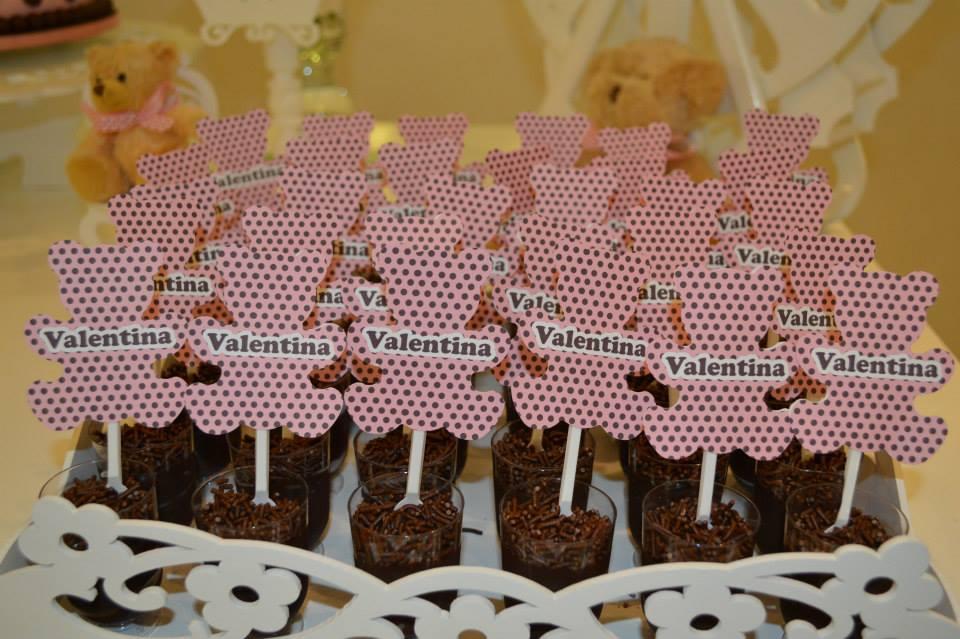 FESTA CLEAN Ursos marrom e rosa  (19)