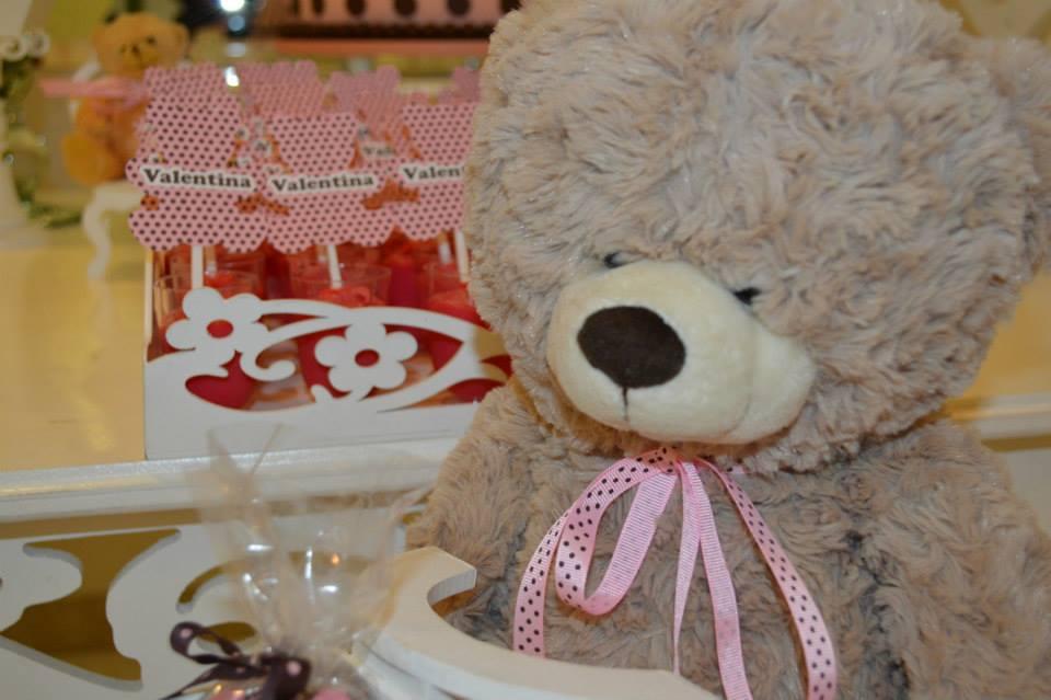 FESTA CLEAN Ursos marrom e rosa  (24)