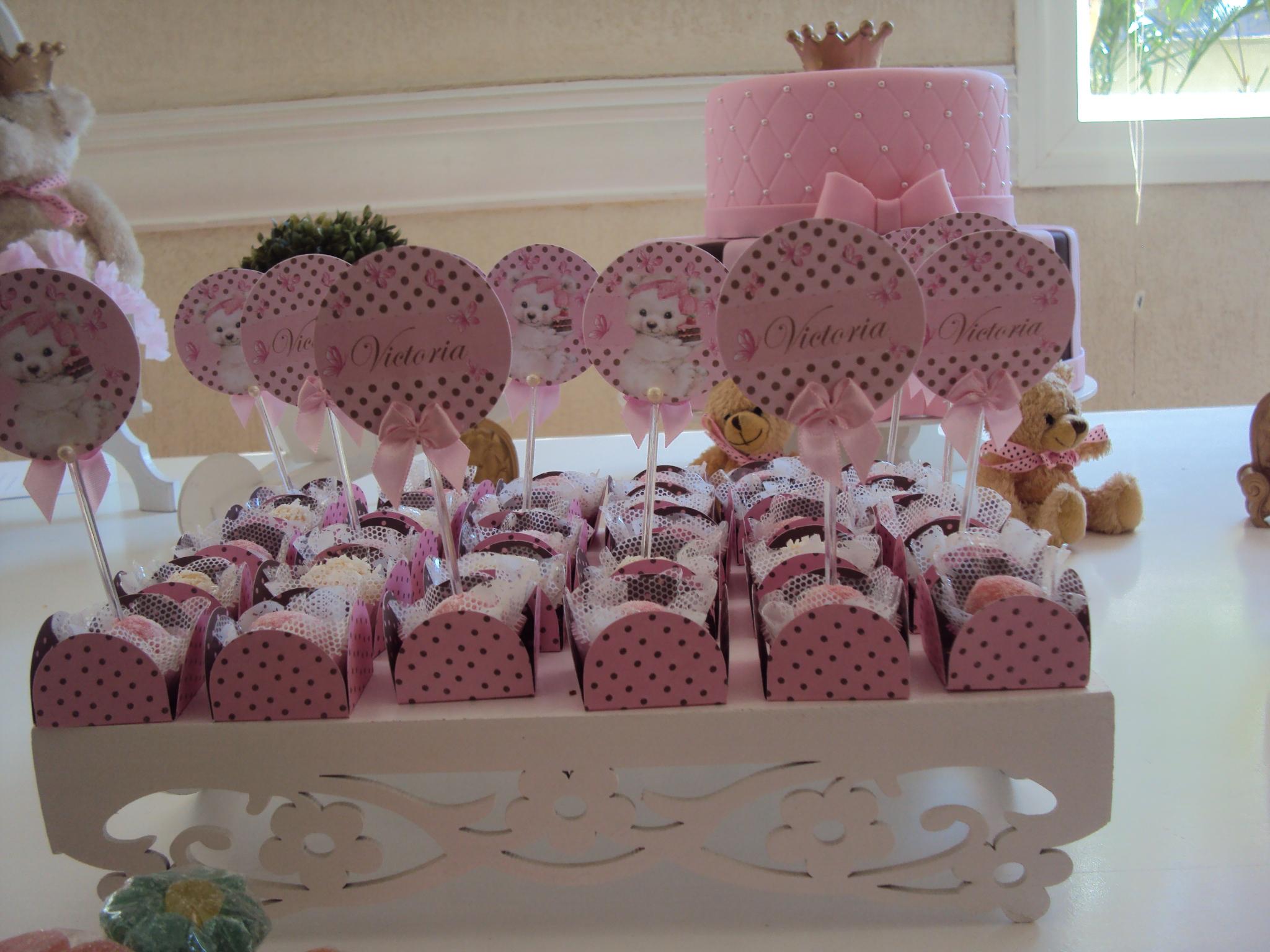 FESTA CLEAN Ursos marrom e rosa  (4)