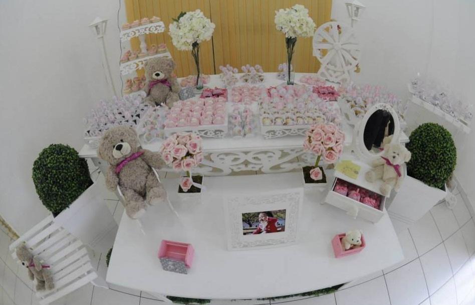 FESTA CLEAN Ursos rosa e branco (2)